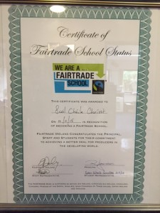 Fairtrade Certificate